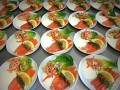 Catering, forret, marineret, laks,